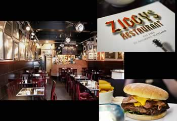 Ziggys Restaurant St Andrews.